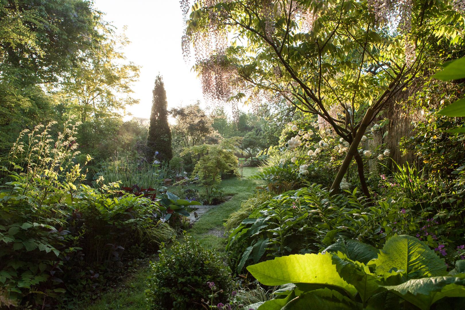 Jardin, Garten, Olga Nasaroff, Méré, Frankreich France,© Amélie Losier